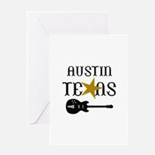 AUSTIN TEXAS MUSIC Greeting Cards