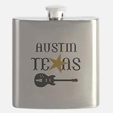 AUSTIN TEXAS MUSIC Flask