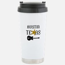 AUSTIN TEXAS MUSIC Travel Mug
