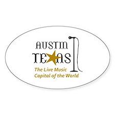 AUSTIN LIVE MUSIC Decal