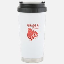 GRADE A PRIME BEEF Travel Mug