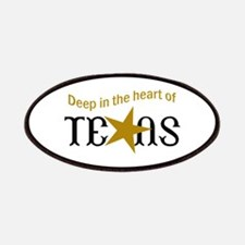 HEART OF TEXAS Patches