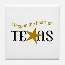 HEART OF TEXAS Tile Coaster