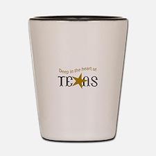 HEART OF TEXAS Shot Glass