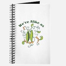 ALIKE AS PEAS Journal