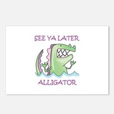 SEE YA LATER ALLIGATOR Postcards (Package of 8)