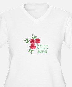 NATURES BLING Plus Size T-Shirt