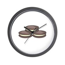 SANDWICH COOKIES Wall Clock