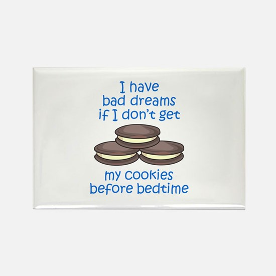 COOKIES BEFORE BEDTIME Magnets