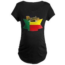 Benin flag ribbon T-Shirt