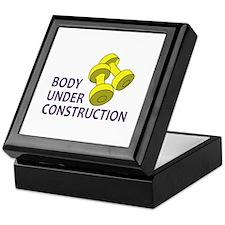 BODY UNDER CONSTRUCTION Keepsake Box