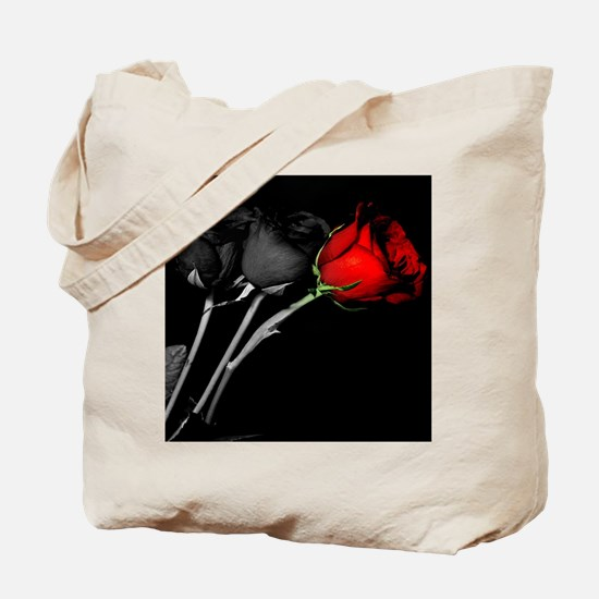 Can you turn my black roses red? Tote Bag