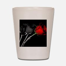 Can you turn my black roses red? Shot Glass