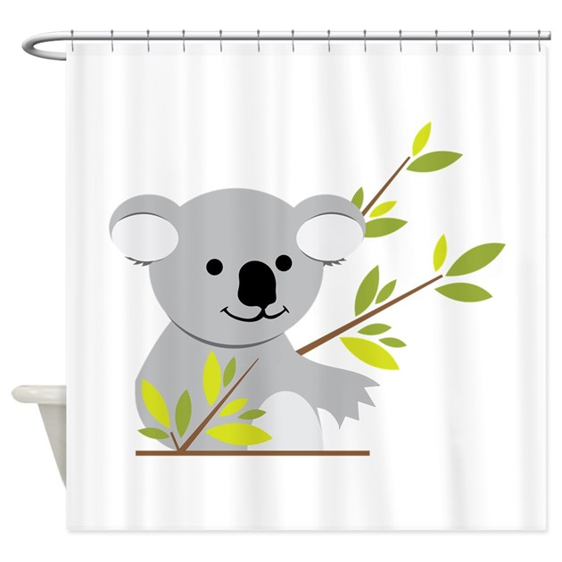 Koala bear shower curtain by concord27 for Belly button bears wall mural