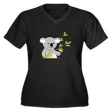 Koala Bear Plus Size T-Shirt