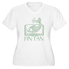 Fin Tan Green T-Shirt