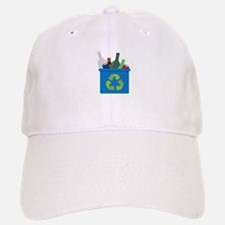 Full Recycle Bin Baseball Baseball Baseball Cap