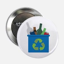 """Full Recycle Bin 2.25"""" Button (10 pack)"""