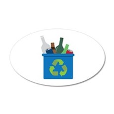 Full Recycle Bin Wall Decal