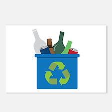 Full Recycle Bin Postcards (Package of 8)