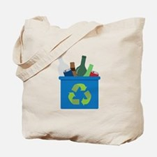 Full Recycle Bin Tote Bag