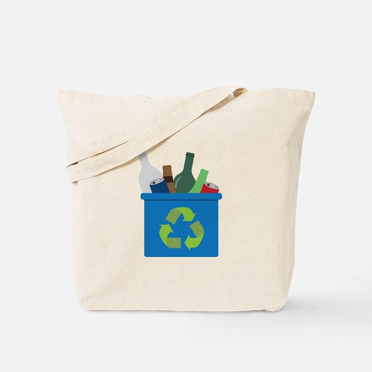 Full Recycle Bin Tote Bag
