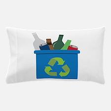 Full Recycle Bin Pillow Case