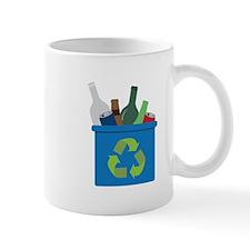 Full Recycle Bin Mugs