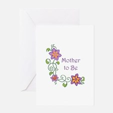 MOTHER TO BE Greeting Cards
