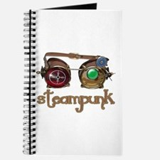 Steampunk Style-Goggles Journal
