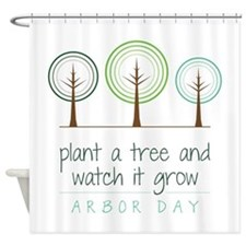 Plant a Tree Shower Curtain