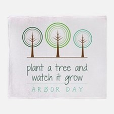 Plant a Tree Throw Blanket