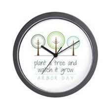 Plant a Tree Wall Clock