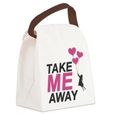 Take Me Away Canvas Lunch Bag