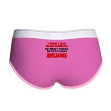 More Russian More Awesome Women's Boy Brief