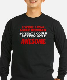 More Russian More Awesome Long Sleeve T-Shirt