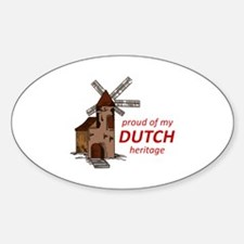 DUTCH HERITAGE Decal