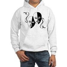 Theatre Masks for Theatre Lover Hoodie