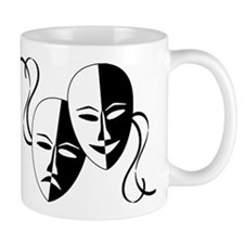 Theatre Masks for Theatre Lover Mugs
