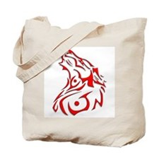 trible dog.png Tote Bag