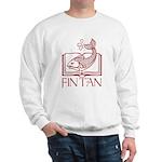 Fin Tan red Sweatshirt
