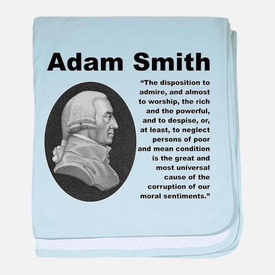 Smith Inequality baby blanket
