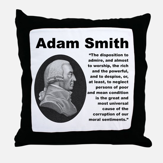Smith Inequality Throw Pillow