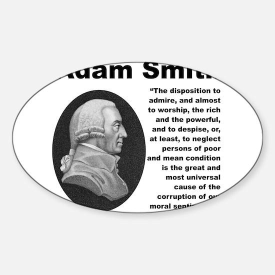 Smith Inequality Sticker (Oval)