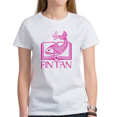 Fin Tan Pink Women's T-Shirt