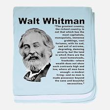 Whitman Inequality baby blanket