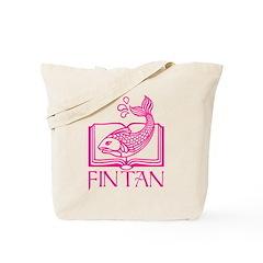 Fin Tan Pink Tote Bag