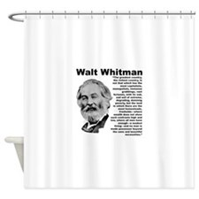 Whitman Inequality Shower Curtain