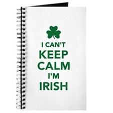 I can't keep calm I'm irish Journal