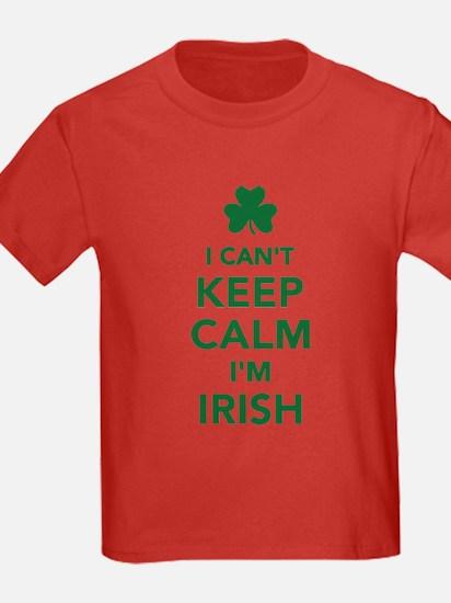 I can't keep calm I'm irish T